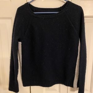 Navy with silver sides sweater